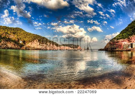 beach of benirras - Ibiza