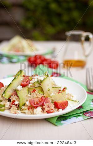 Fresh And Healthy Quinoa Salad