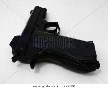 Pistol From Rear