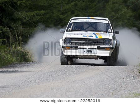 The Winner Of Midnight Sun Rally 2011