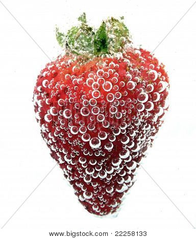 Strawberry and Bubbles