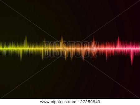 Sound wave pink