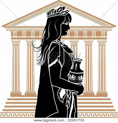 Roman patrician woman