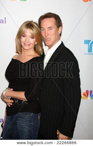 LOS ANGELES - AUG 1:  Deidre Hall, Drake Hogestyn arriving at the NBC TCA Summer 2011 Party at SLS Hotel on August 1, 2011 in Los Angeles, CA
