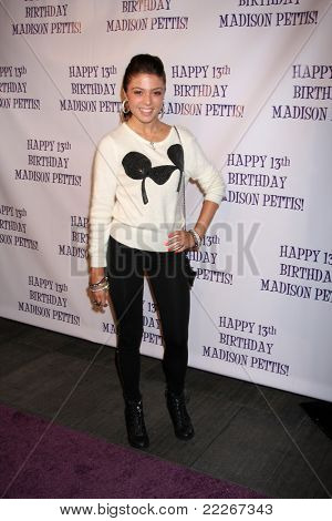LOS ANGELES - JUL 31:  Jacque Pyles arriving at the13th Birthday Party for Madison Pettis at Eden on July 31, 2011 in Los Angeles, CA
