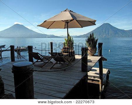 spot for two, Lake Atitlan