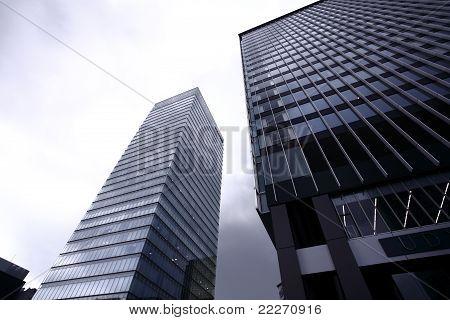Buildings in Akihabara, Tokyo, Japan