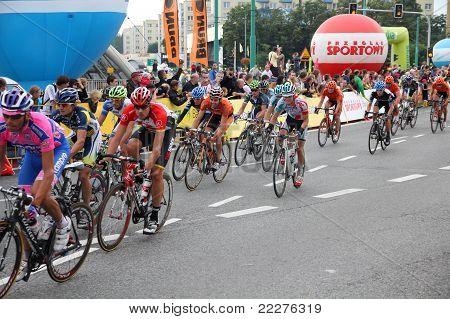 Peloton, Tour De Pologne