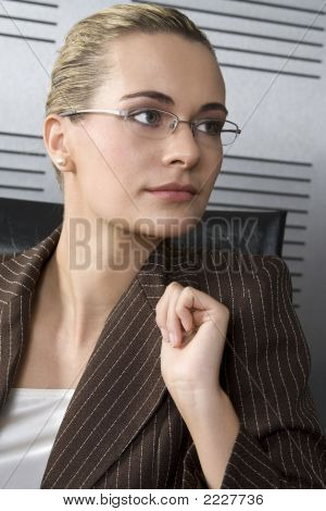 Blond Business Woman
