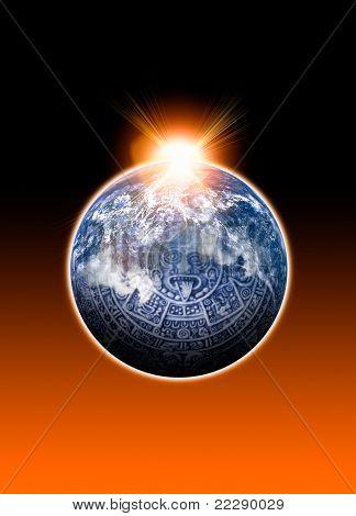 Mayan Calander And Earth