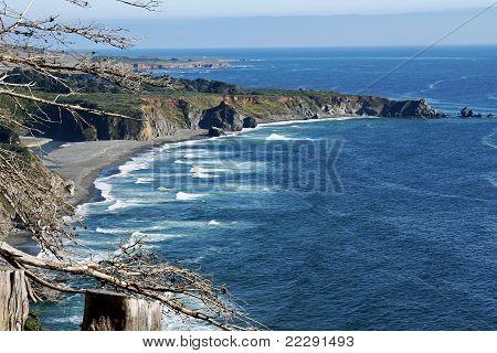 California coastline