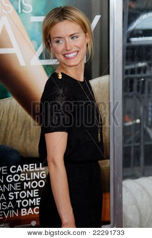 NEW YORK - JULY 19: Taylor Schilling attends the world movie premiere of
