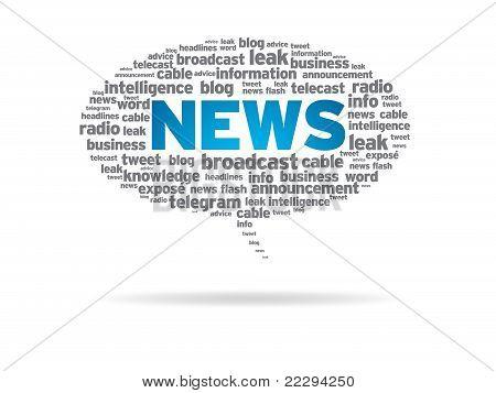 Speech Bubble - News