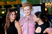 LOS ANGELES, CA - DEC 9: Penelope Cruz, Nicole Kidman and Fergie aka Stacy Ferguson at the premiere