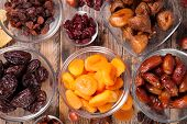 assorted dry fruit poster