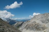 stock photo of engadine  - lovely alpine landscape in Engadine - JPG