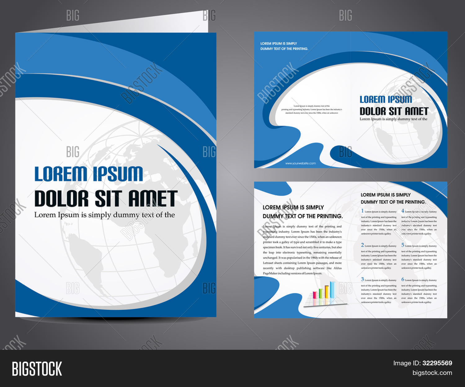 professional business catalog template or corporate brochure professional business catalog template or corporate brochure design inner pages for document publishing