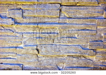 Old Slyle Wall Background Or Texture