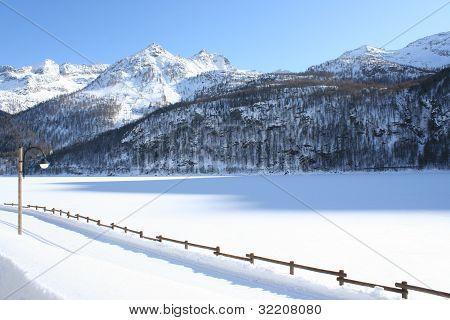 Monte Bianco mountains