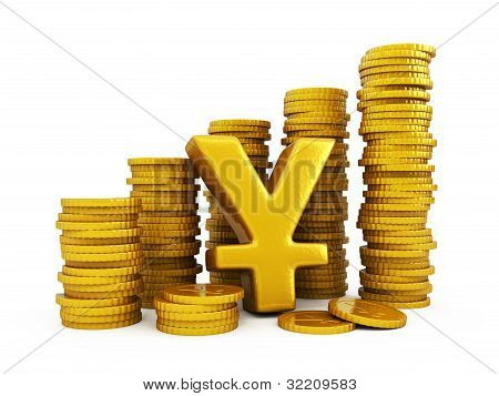 Yen Golden Coins