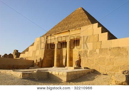 Entrance to Mastaba