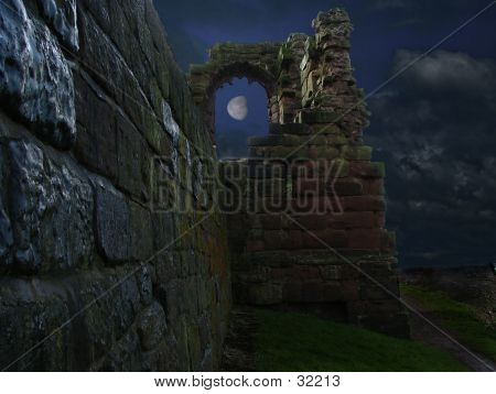 Castle By Moonlight