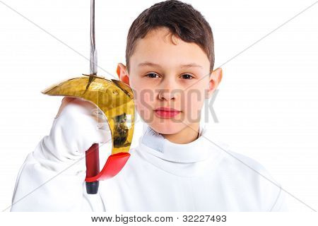 Little fencer