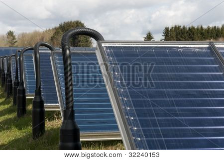 Hot Water Solar Heating System