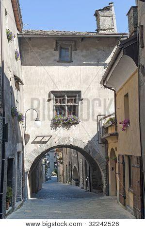 Bard  (aosta, Italy) - Medieval Village