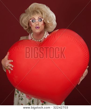 Drag Queen With Big Heart