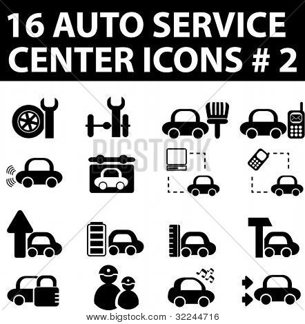 Service Center Icon 16 Auto Service Center Icons
