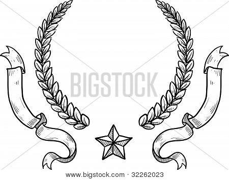 Generic military crest