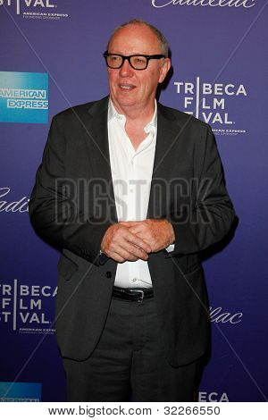 NEW  YORK - APRIL 21: Director Terry George attends the premiere of