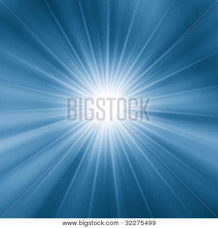 Fantasy star burst background
