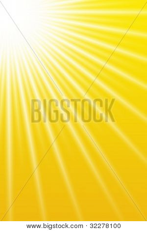 Summer sun background