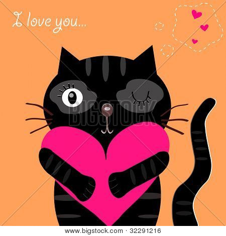 love black cat