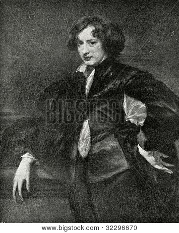 Antoon (Anthony) van Dyck - Flemish painter and graphic artist.  Published in magazine