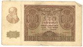 High-Resolution Picture Of Very Old Polish Banknote (1940) poster