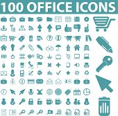 foto of business-office  - 100 office icons - JPG