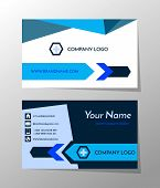 Creative And Professional Business Card Design, Clean Visiting Card, Contact Card And Name Card Desi poster