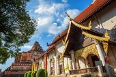 Wat Chedi Luang Is A Buddhist Temple In The Historic Centre And Is A Buddhist Temple Is A Major Tour poster