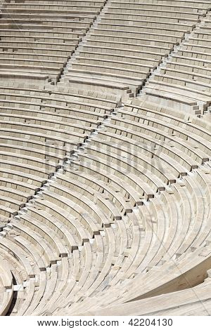 Seats Of Ancient Odeon Of Herodes Atticus