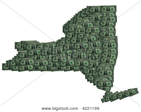 New York Dollar Outline