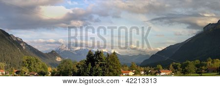 The Allgaeu Alps in Bavaria