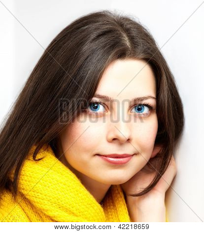 Girl With Yellow Scarf