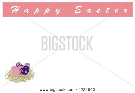 Easter Nest-Swirl Egg