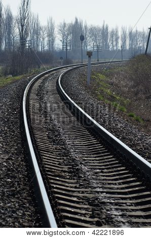 Turn of railway ways