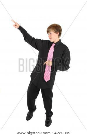 Teenage Boy Dancing