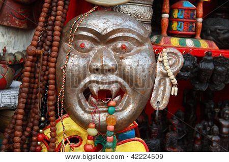 Nepali Mask Street Shop