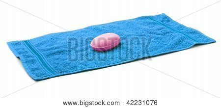 Towel with Soap.